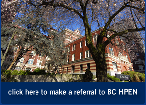 make a referral to BC HPEN